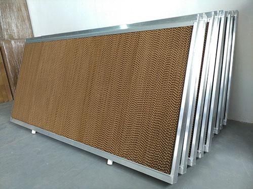 纸质水帘墙