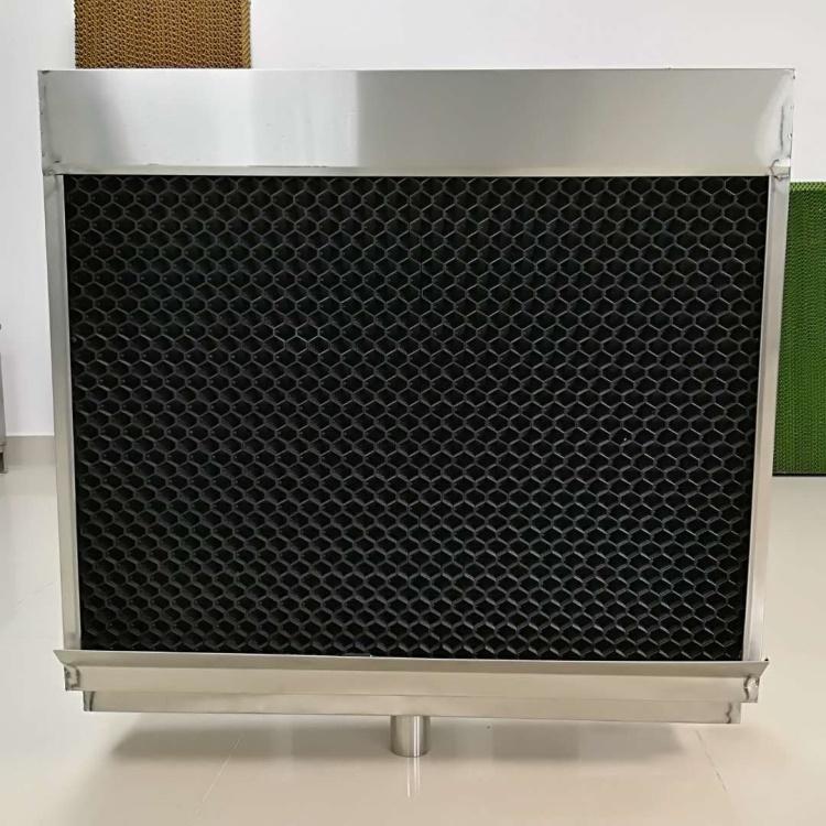 PP降温水帘框 降温除尘水帘框 降温除尘多功能水帘框水帘墙